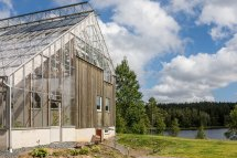 Sweden Eco-luxury Greenhouse Home Adorable