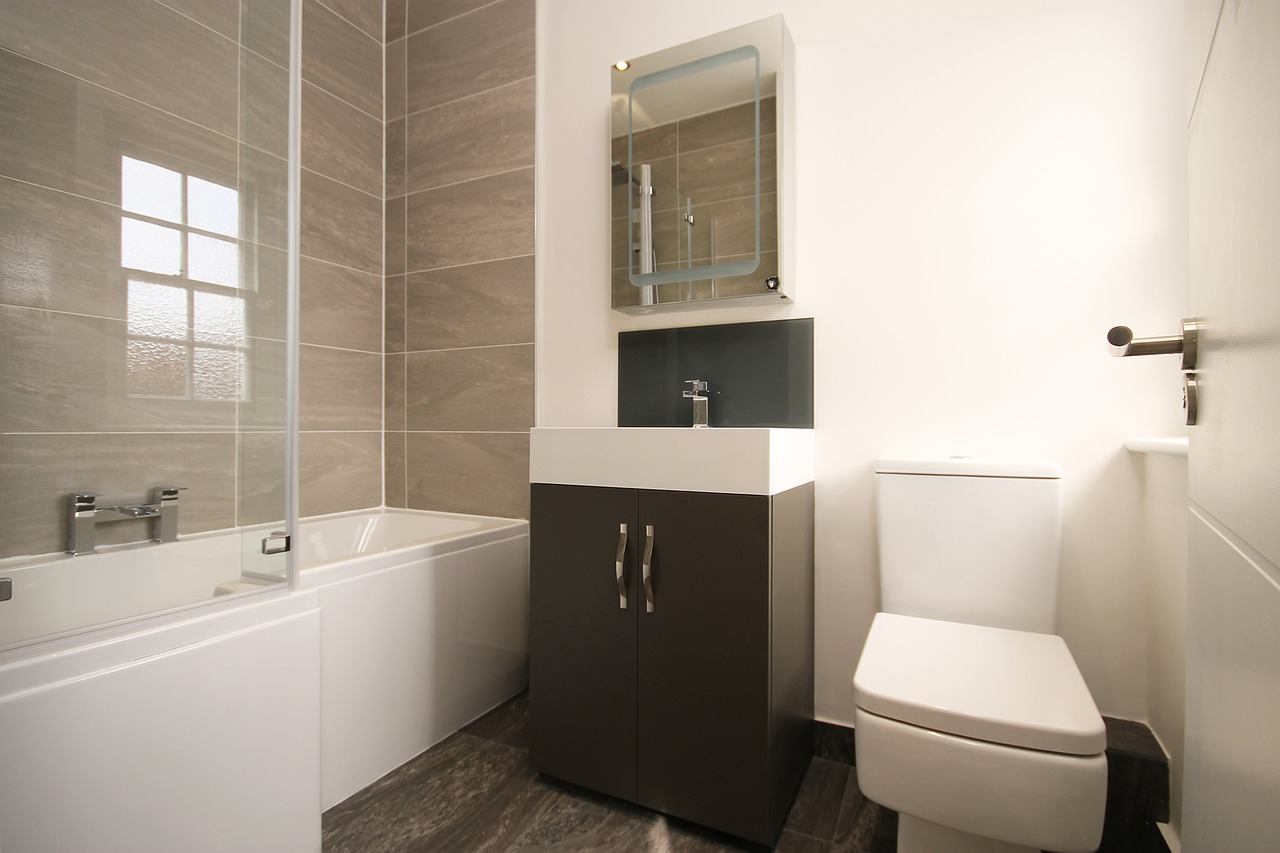 Modern Small Bathroom How To Furnish A Small Bathroom To Make It Look Glam Adorable Home