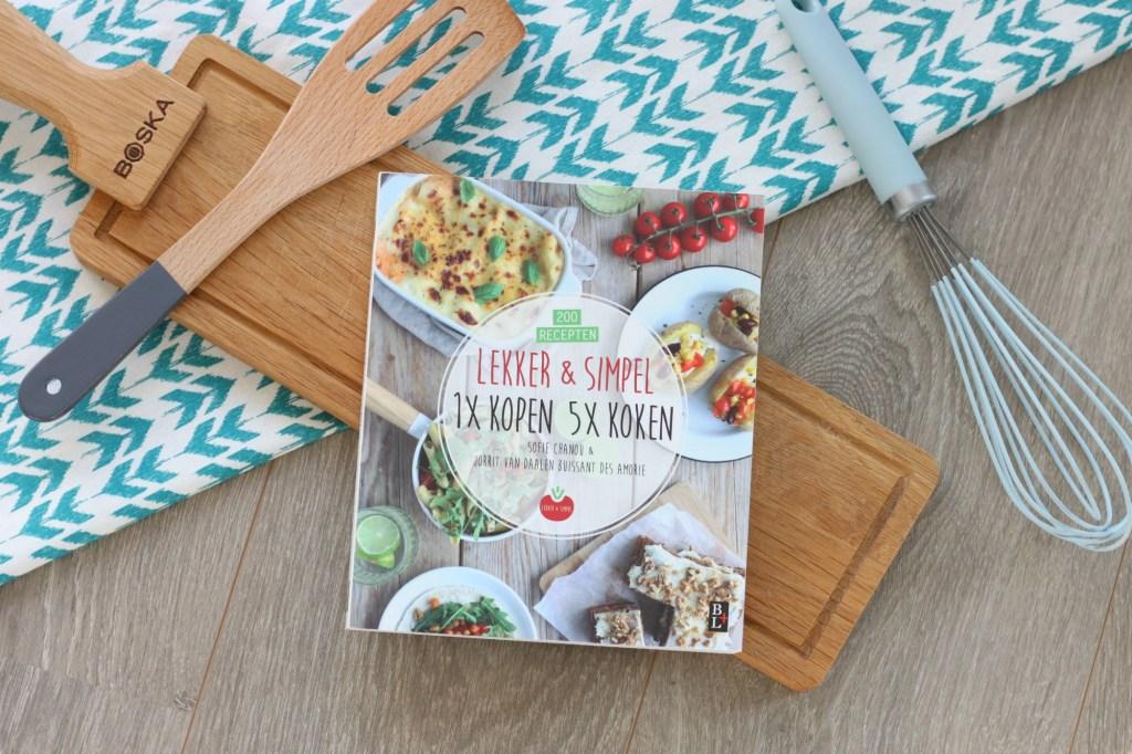 Lekker simpel 1 x kopen 5 x koken for Kookboek lekker en simpel