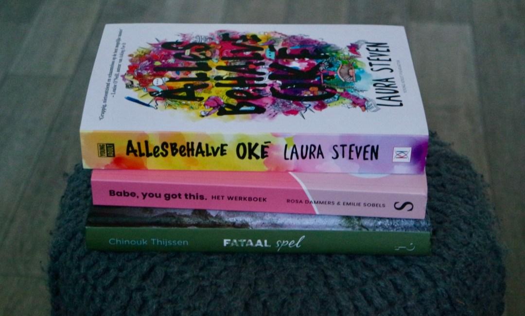 Nieuwe boeken april