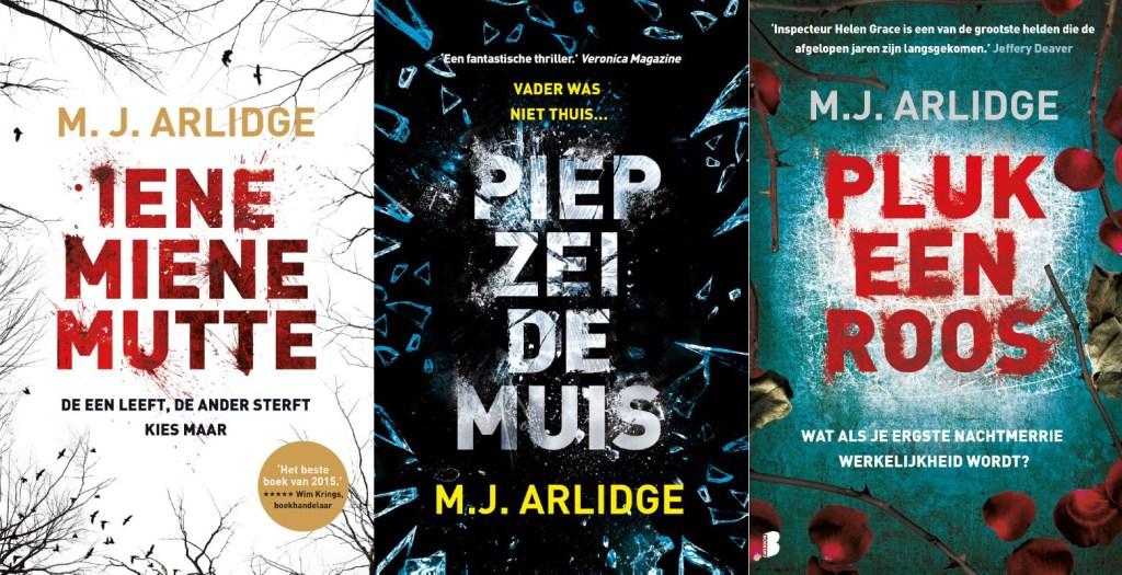 M.J Arlidge serie