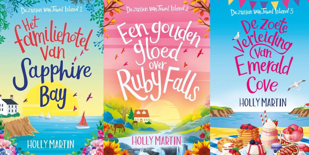 Dit zijn alle boeken van Holly Martin