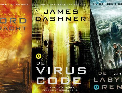 Volgorde van de Labyrintrenner serie van James Dashner