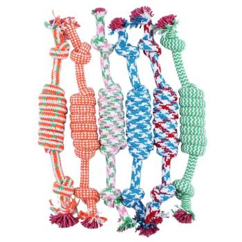 Braided Bone Knot for Dog Dogs Toys
