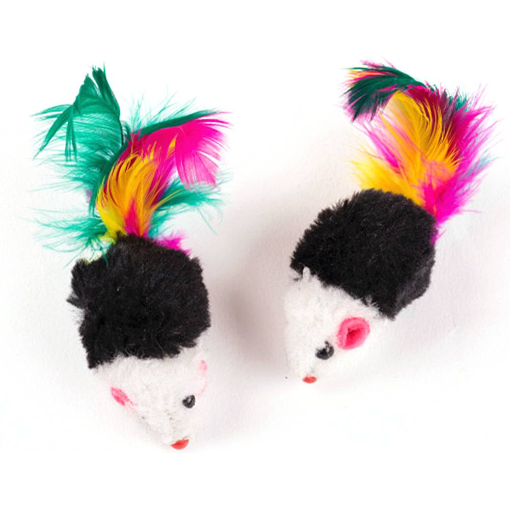Funny Mini Mouse Toys Set for Cats Cats Toys