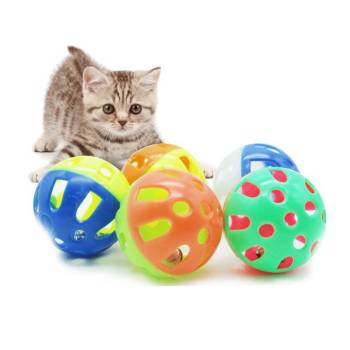 Funny Plastic Interactive Ball for Pets Cats Toys