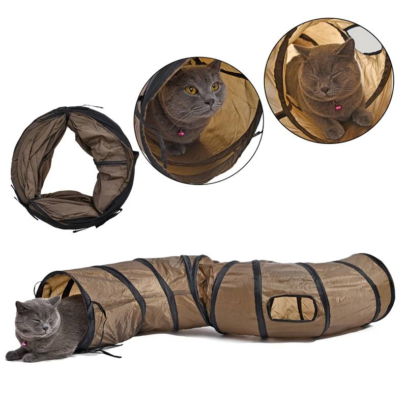 S Shaped Long Tunnel Toy for Cats Cats Toys