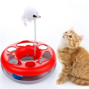 Cat Teasing Mouse Toy Cats Training