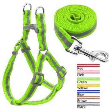 Nylon Reflective Harness for Small Dogs Collars, Harnesses & Leashes Dogs