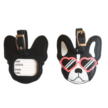 Dog Shaped Luggage Tag For Pet Lovers Travel Accessories