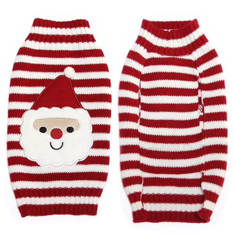 Dog's Christmas Sweater Pet Christmas Costume and Toy