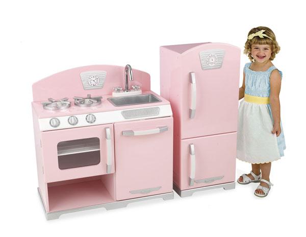 childrens kitchens kitchen sets on sale kids by kidkraft adorabletots blog pink retro