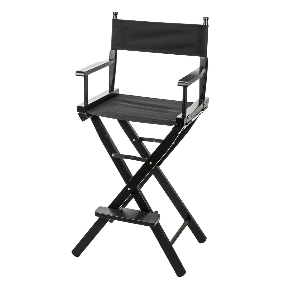 Black Directors Chair Clar Dc 30 Film Director S Chair Black Wood With Black Seat