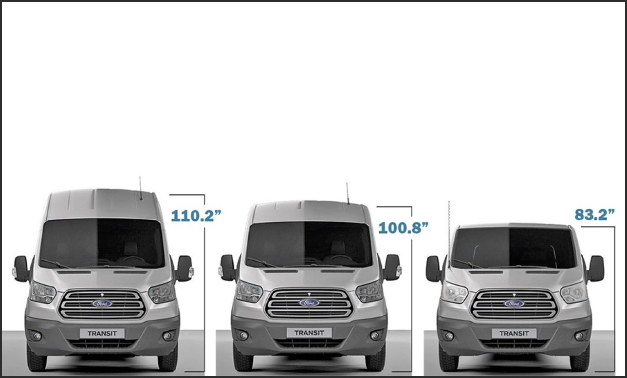 2020 Ford Transit 15 Passenger Van Dimensions