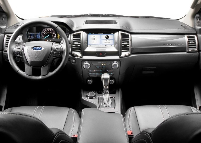 2020 Ford Ranger Interior Features