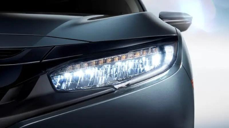 2020 Honda Civic Redesign Headlight & Exterior
