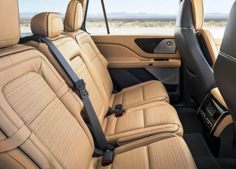 2020 Lincoln Aviator Seating Capacity