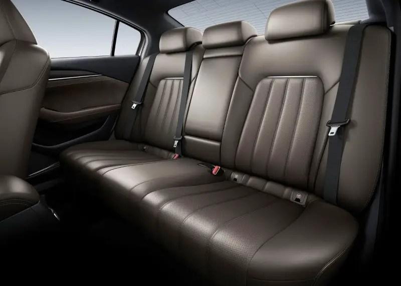2020 Mazda 6 Grand Touring Interior capacity
