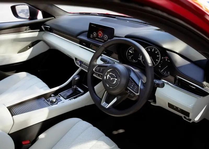 2020 Mazda 6 Interior Facelift