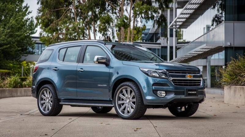 2020 Chevy Trailblazer SUV DImensions & AWD System