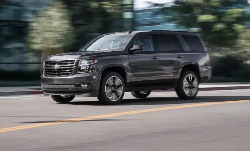 2020 Chevy Tahoe SUV Diesel Engine & Horsepower
