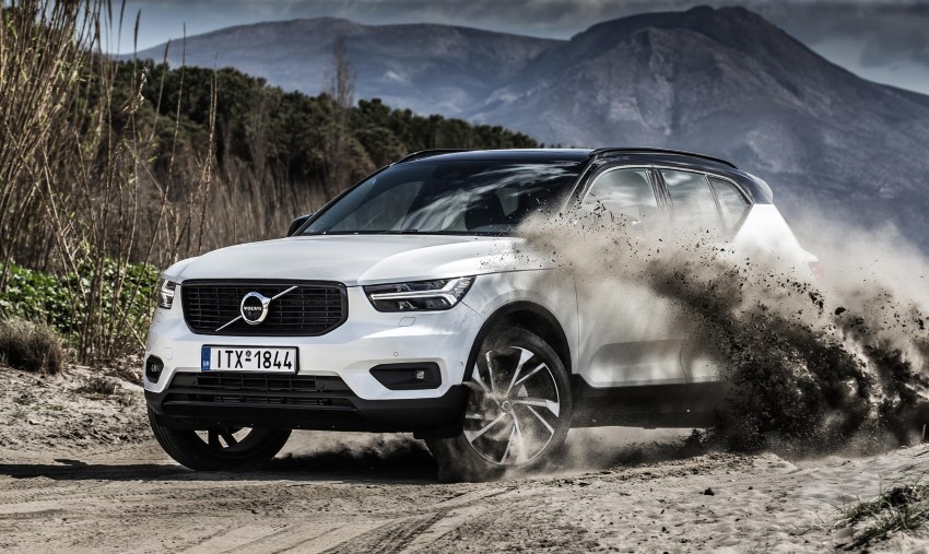 2020 Volvo XC40 Off-Road Test - It's OK