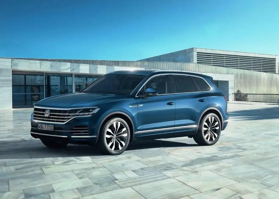 2020 VW Touareg Specs & New Safty Features