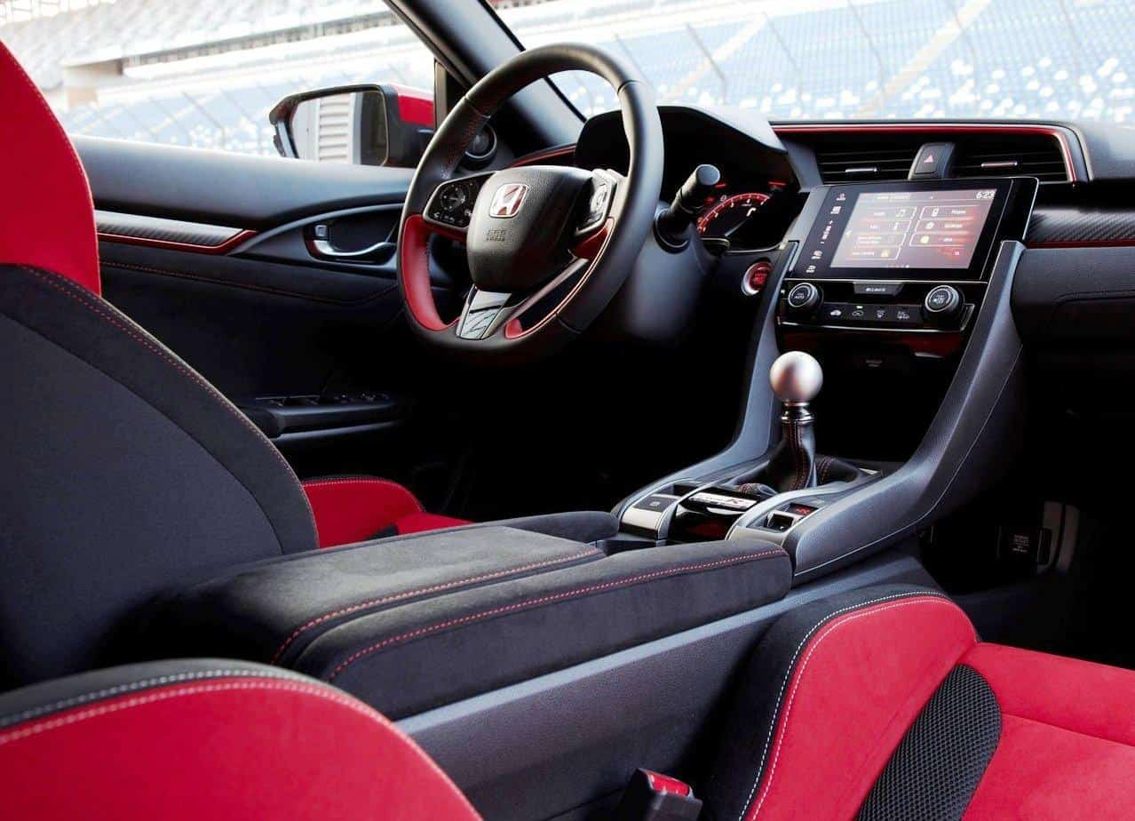 2020 Honda Civic Type R Interior Changes