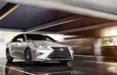 2020 Lexus ES Sedan Hybrid New York Motor Show