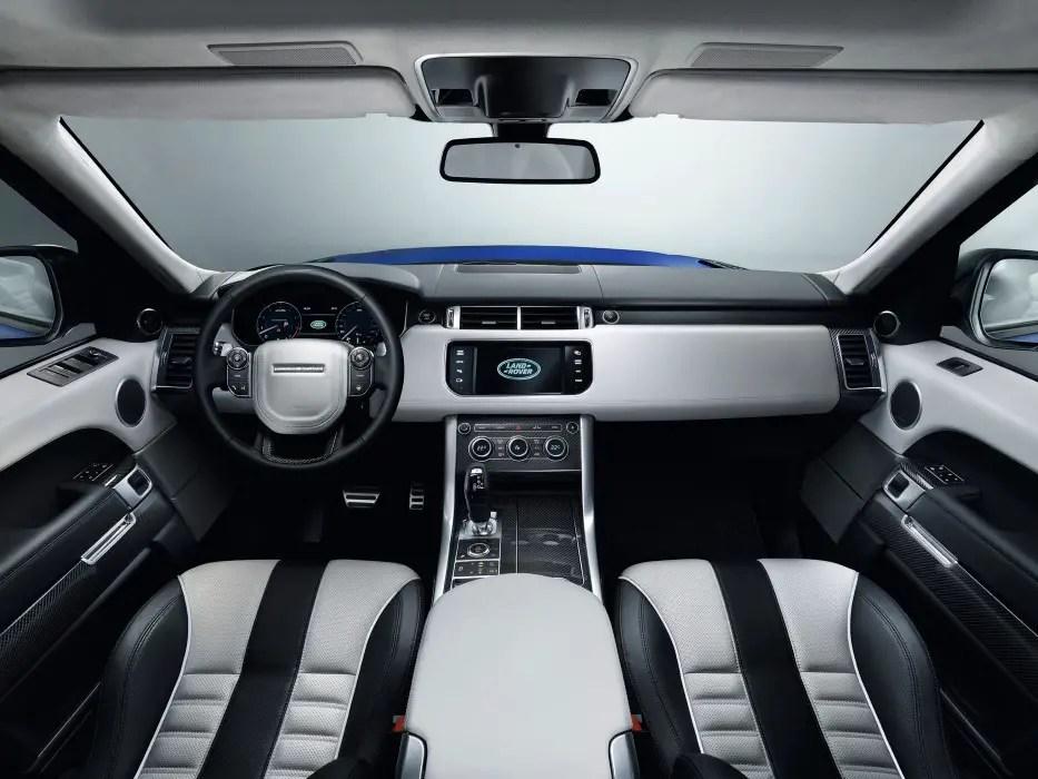 2020 Range Rover Sport SVR Interior Features