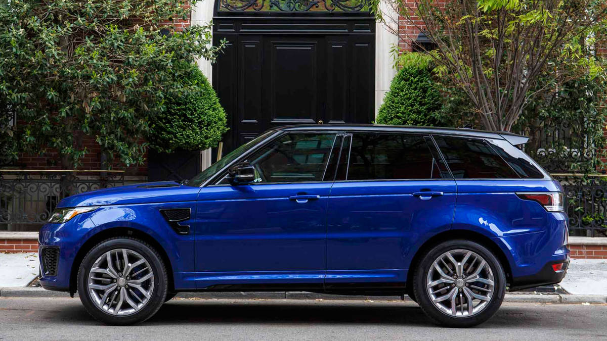 2020 Range Rover Sport SVR Release Date and Price