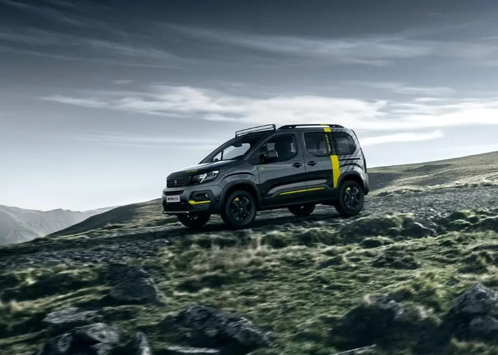 2020 Peugeot Rifter 4X4 Dimensions