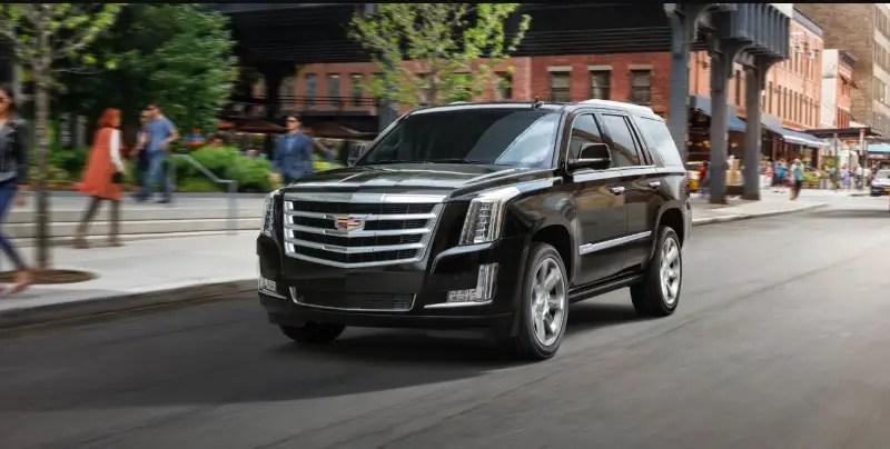 2021 Cadillac Escalade Lease Deals