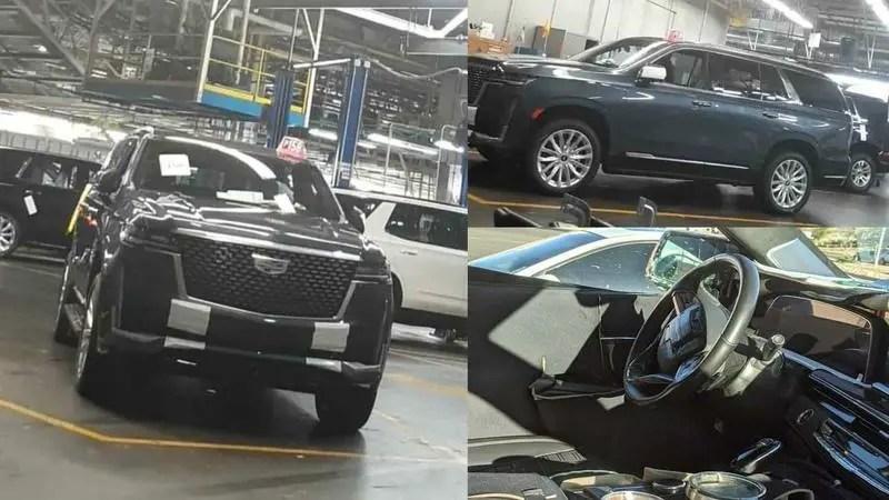 2021 Cadillac Escalade Spy Shots