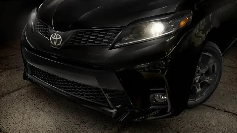 2021 Toyota Sienna Changes Exterior