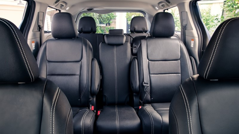 2021 Toyota Sienna Seat Interior Configurations