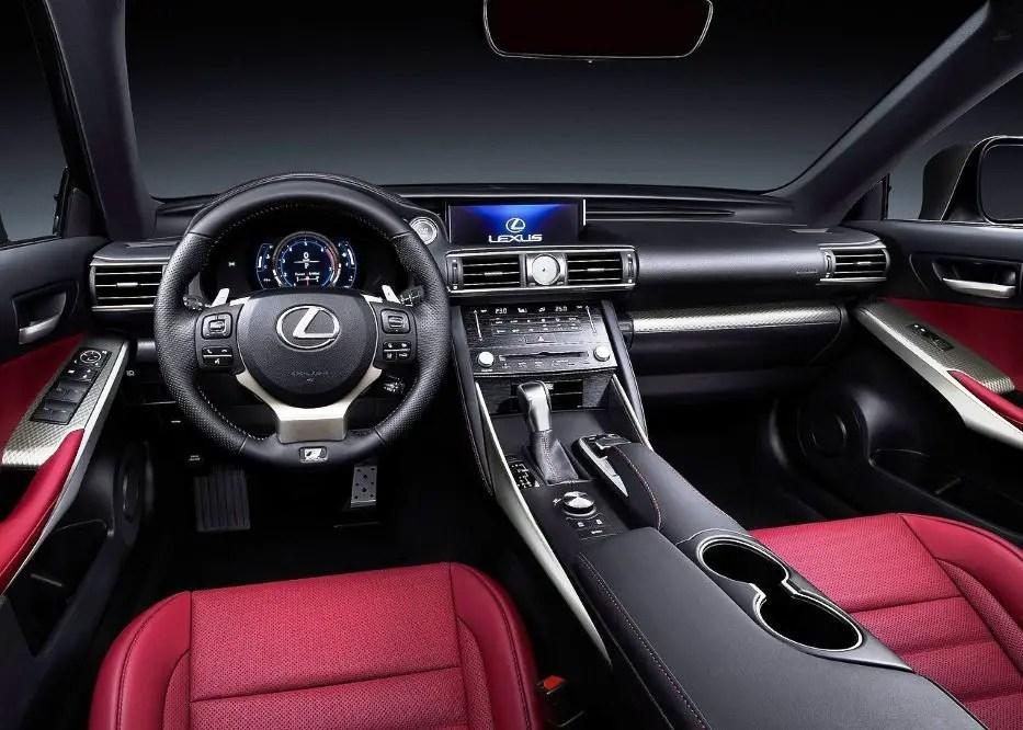 2021 Lexus IS 300 Hybrid New Interior