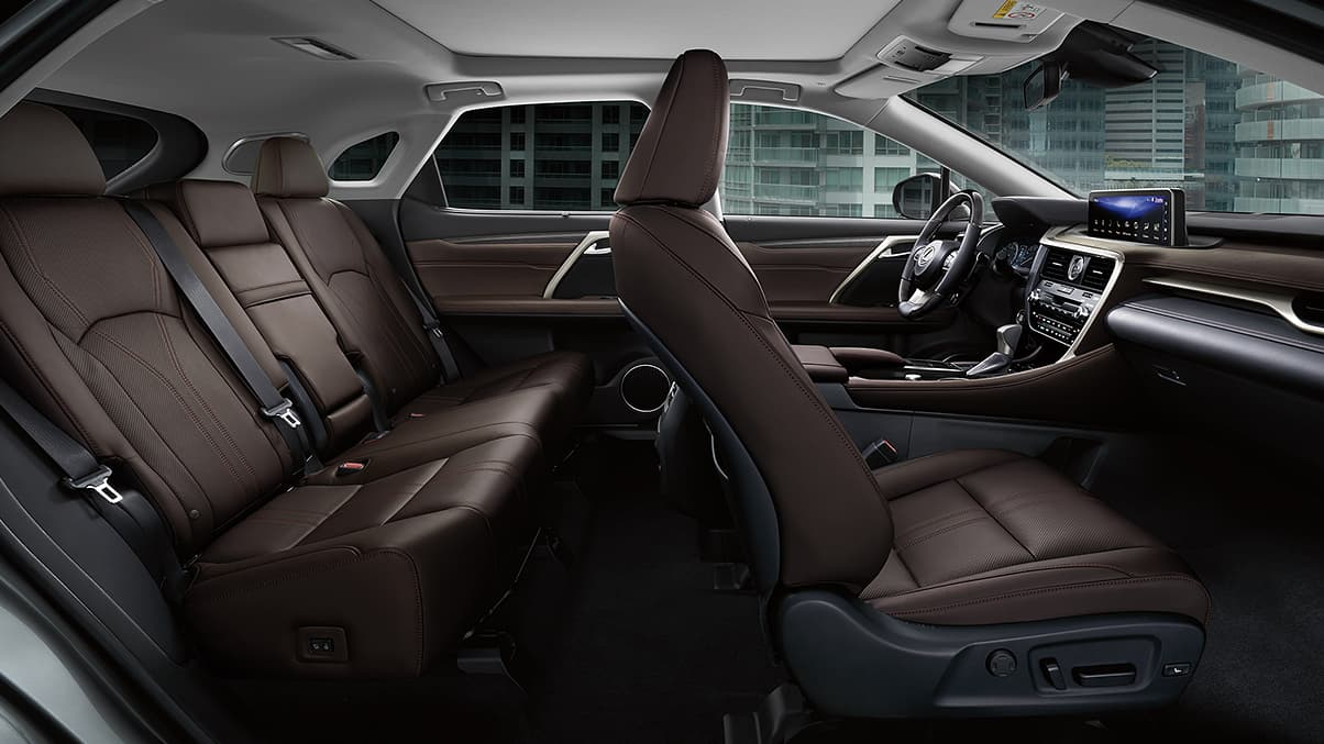 2021 Lexus RX 350 Interior Overlay Seating Capacity