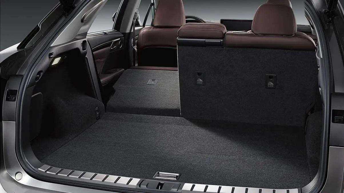 2021 Lexus RX 350 Trunk Capacity