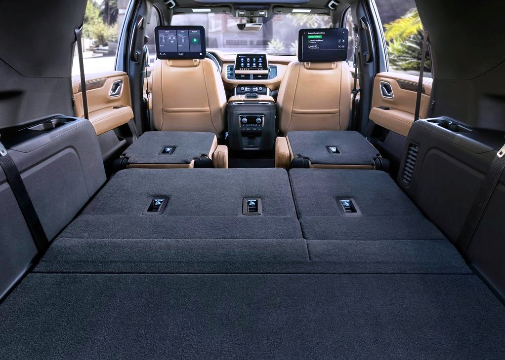 2021 Chevy Suburban Trunk Capacity