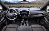 2021 Chevy Traverse Interior Dashboard