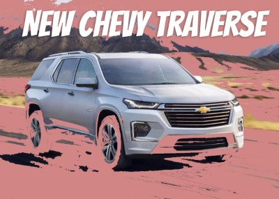 2021 Chevy Traverse Redesign, Specs & Price