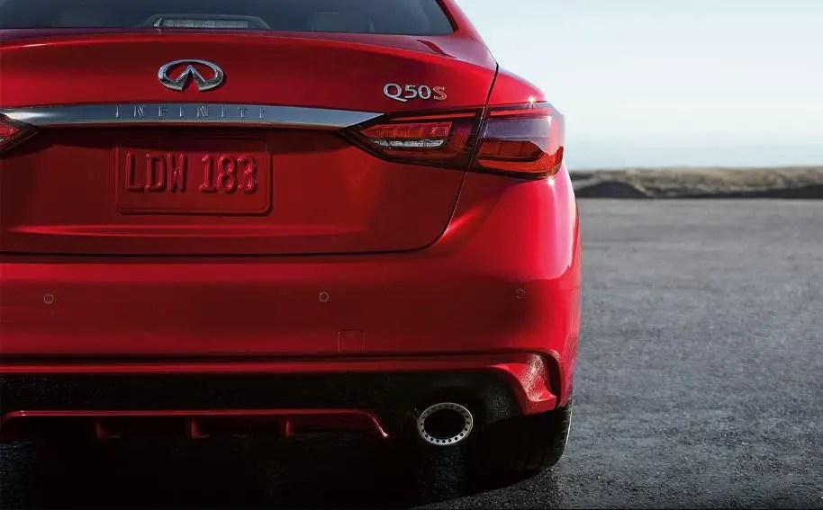 2021 Infiniti Q50s Red Colors