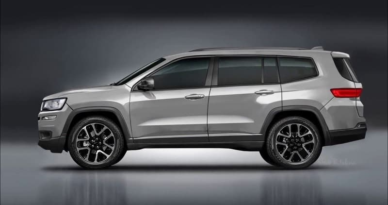 2021 Jeep Wagoneer Redesign