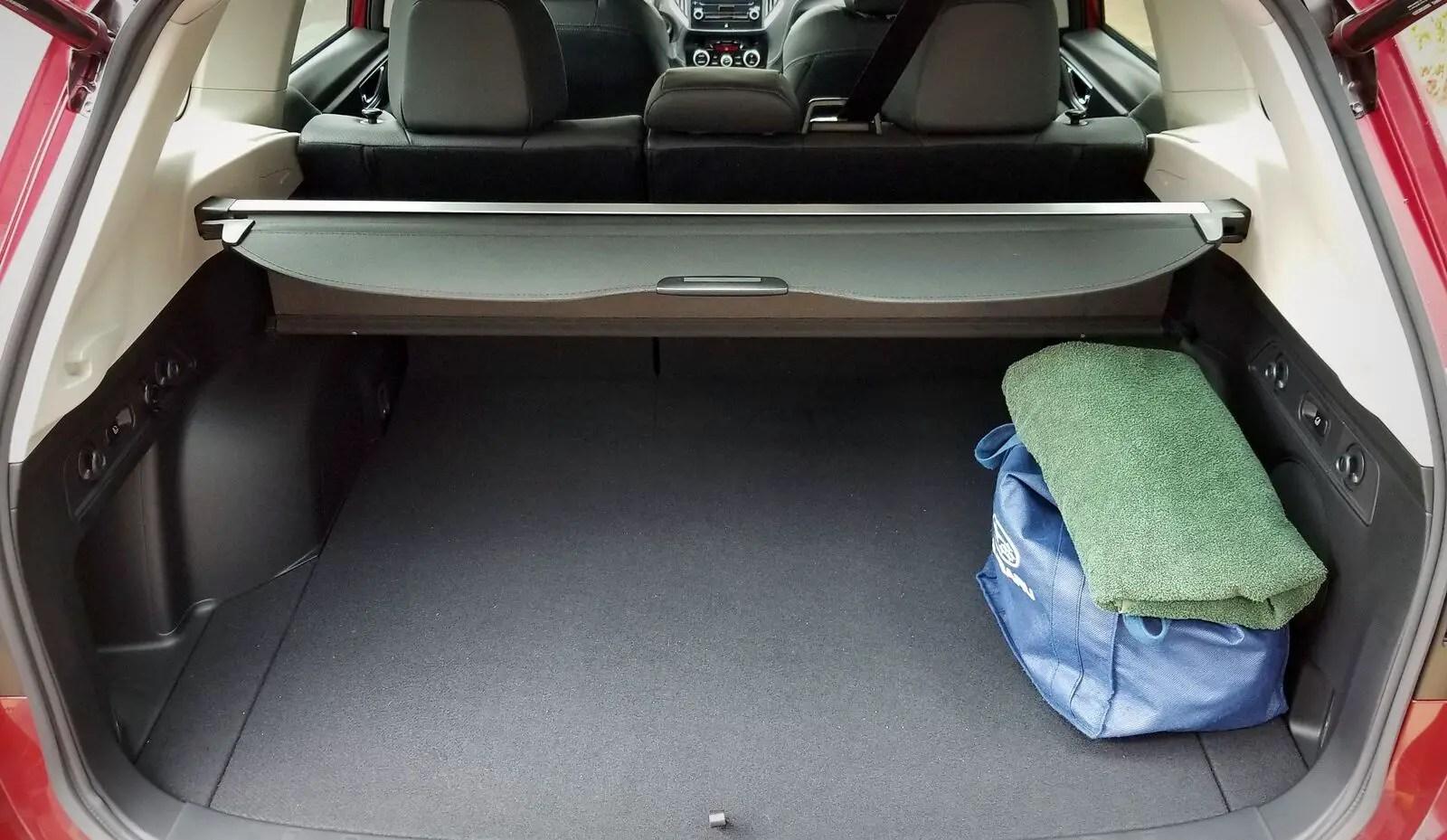 2021 Subaru Forester Trunk Capacity