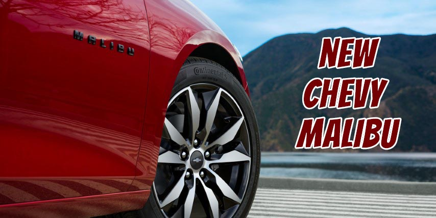 2022 Chevy Malibu With Continental Tires