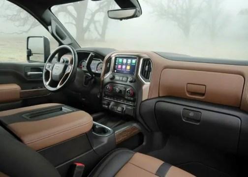 2022 Chevy Silverado 2500HD Interior