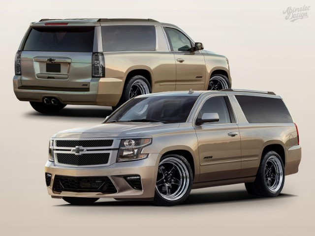 2022 Chevy Tahoe SS Official