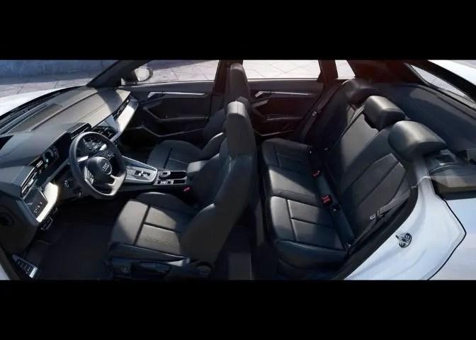 2022 Audi RS 3 Sportback Passenger Seating Capacity