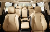 2022 Kia Sedona Passenger Capacity with Beach Interior Leather Color